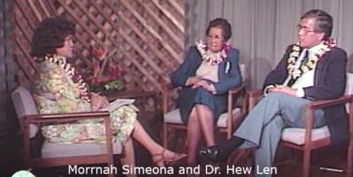 entrevista a morrnah simeona y dr. hew len
